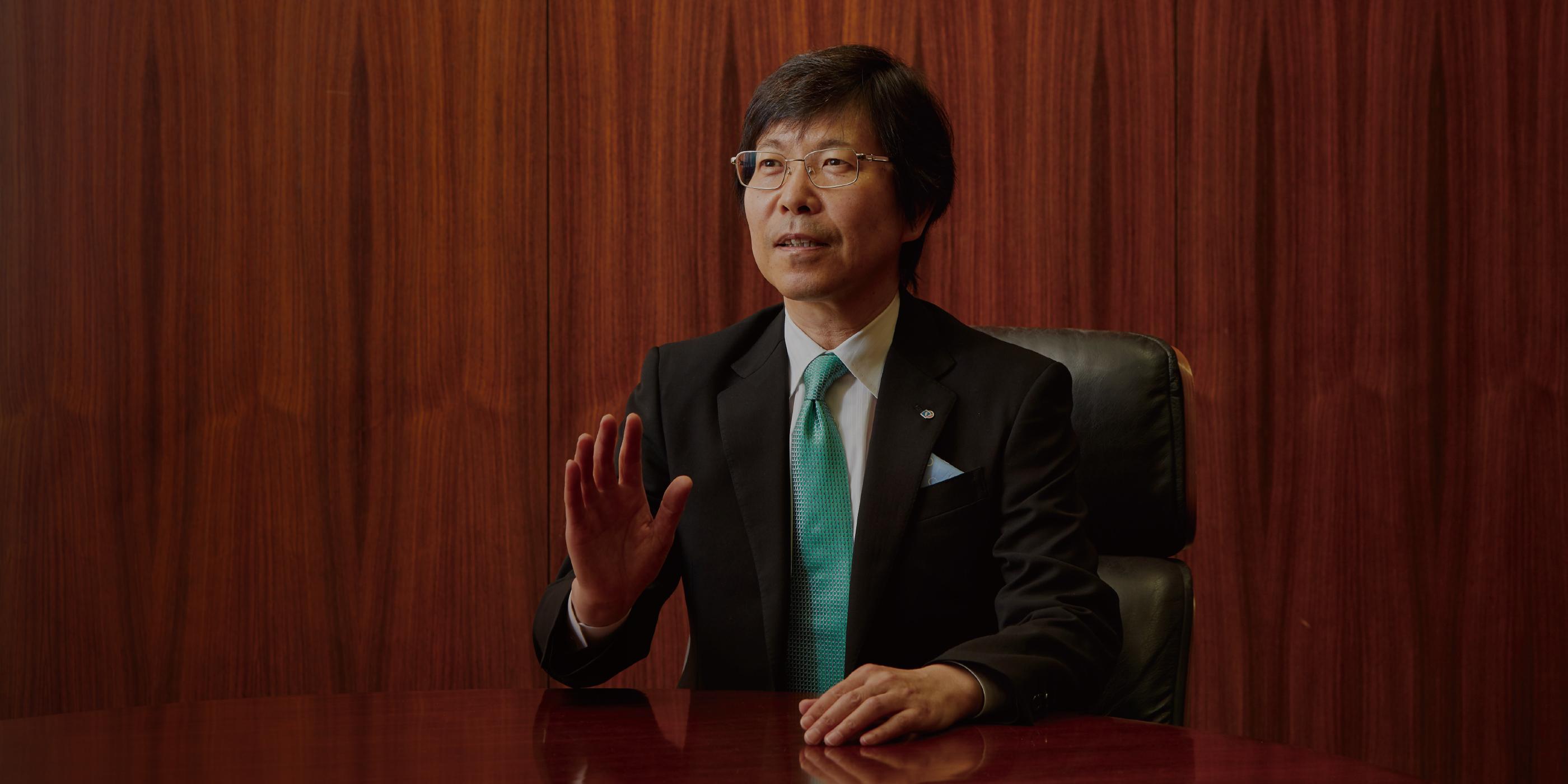 代表取締役社長 矢野 文雄